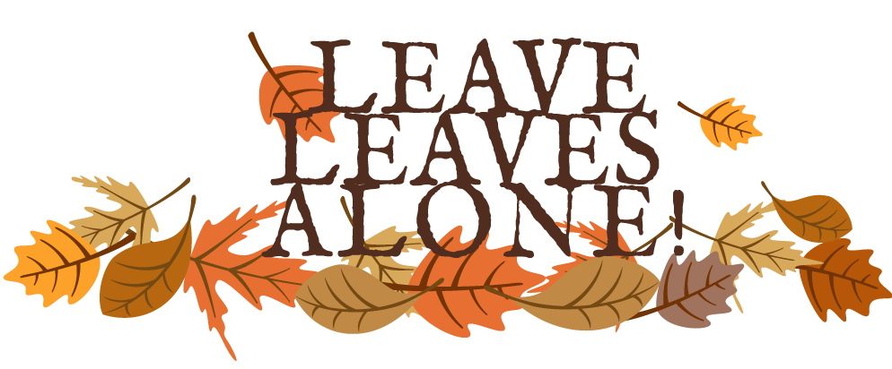 Leave Leaves Alone Logo