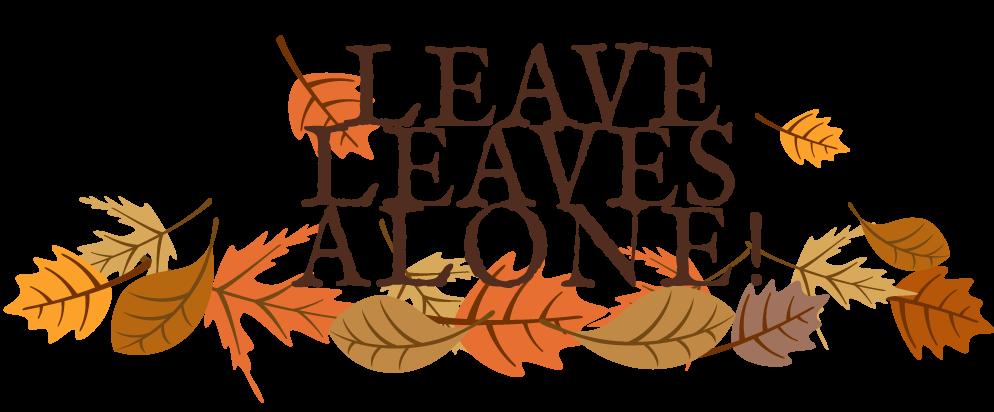 Leave Leaves Alone Logo